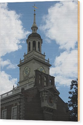 Philadelphia Pa - 121226 Wood Print by DC Photographer
