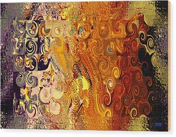 Philhuly Digital Glass Wood Print
