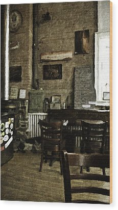 Phillipsburg Brewing Company Wood Print by Image Takers Photography LLC - Carol Haddon