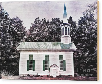 Phillipsport Methodist Wood Print