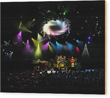Phish At Alpine Valley Wood Print by Shawn Everhart