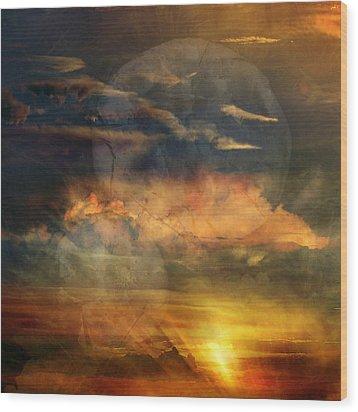 Phoenix Three Wood Print by Randal Bruck