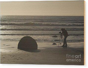 Photograph Wood Print by Astrid Lenz