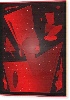 Phyllis Hyman Wood Print by Victor Bailey