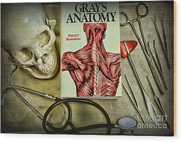 Physician - Tools Of The Trade Wood Print by Paul Ward