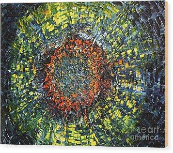 Physiological Supernova Wood Print by Michael Kulick