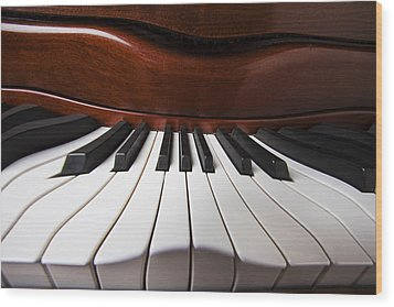 Piano Dreams Wood Print by Garry Gay