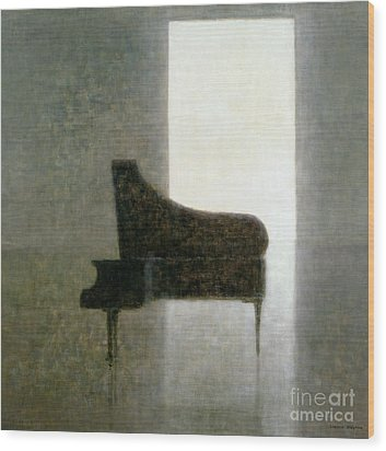 Piano Room 2005 Wood Print by Lincoln Seligman