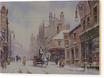 Piccadilly Hanley Wood Print by Anthony Forster