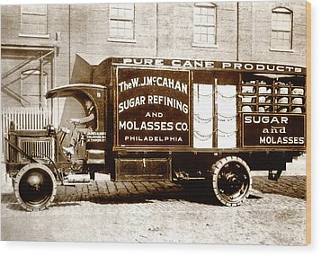 Picture 10 - New - Molasses Truck - Wide Wood Print by Darlene Kwiatkowski