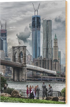 Wood Print featuring the photograph Picture Perfect by Linda Karlin