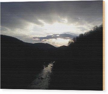 Piece Of Heaven  Wood Print by Kiara Reynolds
