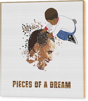 Pieces Of A Dream Wood Print