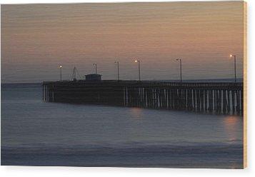 Pier Avilla Beach California  Wood Print