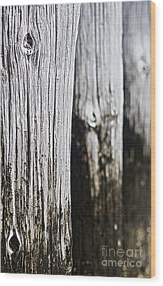 Wood Print featuring the photograph Pier Wood by Sebastian Mathews Szewczyk