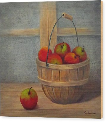 Pies Anyone Wood Print by Roseann Gilmore