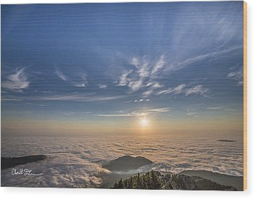 Pilchuck West 2 Wood Print