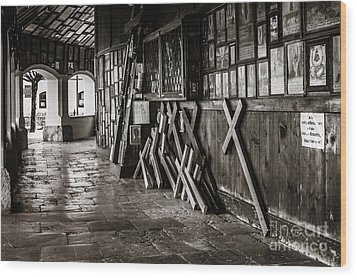 Pilgrimage Wood Print by Juergen Klust