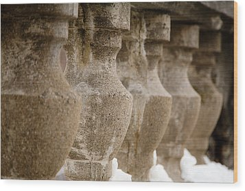 Wood Print featuring the photograph Pillars by Courtney Webster