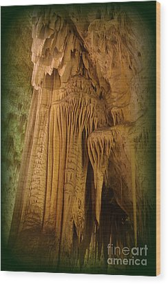 Pillars Of Time Wood Print