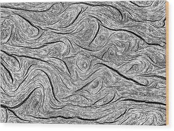 Pine Bark Abstract Wood Print