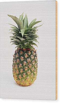 Pineapple Wood Print by Ron Nickel