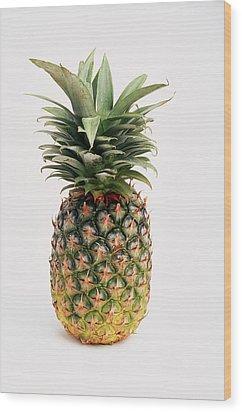 Pineapple Wood Print by Ron Nickel