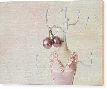 Pink 1 Wood Print