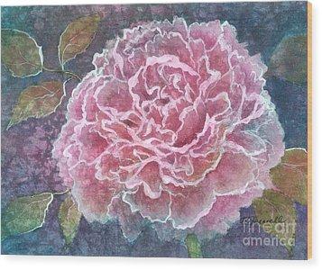 Pink Beauty Wood Print by Barbara Jewell