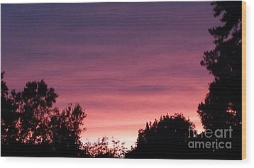 Pink Heaven Wood Print