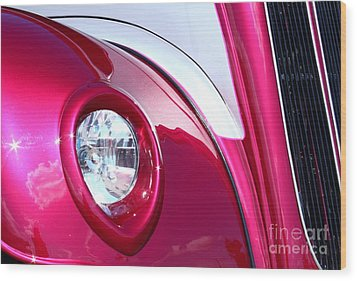 Pink Passion Wood Print by Linda Bianic