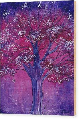 Pink Spring Awakening Wood Print