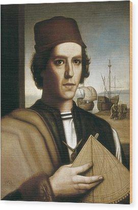 Pinzon, Vicente Y��ez  -1515. Painting Wood Print by Everett