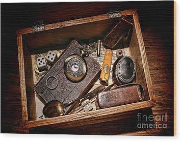 Pioneer Keepsake Box Wood Print by Olivier Le Queinec