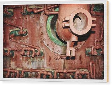 Pipe Maze Wood Print by Davina Washington