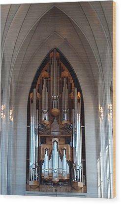 Pipe Organ Wood Print