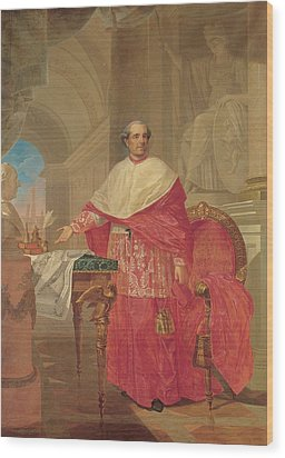 Pirovani Giuseppe, Portrait Of Cardinal Wood Print by Everett