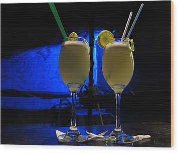 Pisco Sour In Puno Wood Print by RicardMN Photography
