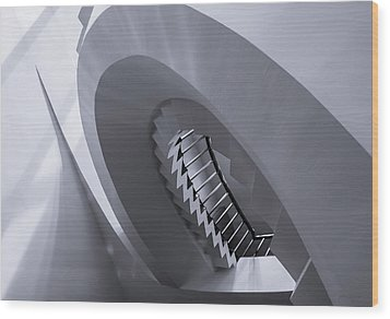 Wood Print featuring the photograph Pitch Perfect - Abstract by Steven Milner