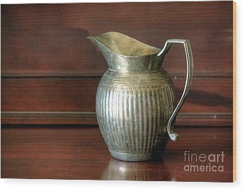 Pitcher Wood Print by Chris Anderson