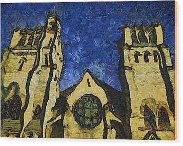 Place Of Worship Wood Print by Dale Stillman
