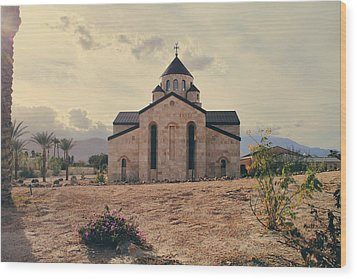 Place Of Worship Wood Print by Laurie Search