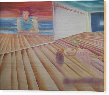 Places And Spaces Wood Print by Prasenjit Dhar