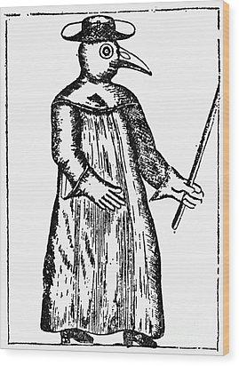 Plague Costume, 1720 Wood Print by Granger