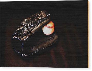 Play Ball Fine Art Photo Wood Print by Jon Van Gilder