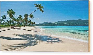 Playa Rincon Wood Print