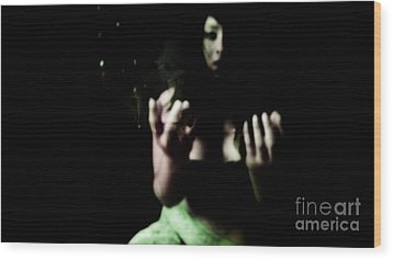 Wood Print featuring the photograph Pleading by Jessica Shelton