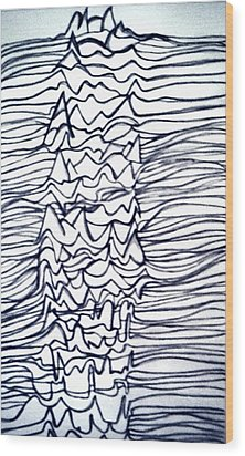 Pleasures Unknown Wood Print by Barbara Giordano