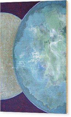 Pleiades Meditation Wood Print
