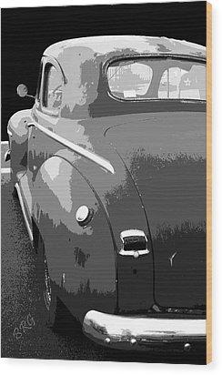 Plymouth The Car Wood Print by Ben and Raisa Gertsberg
